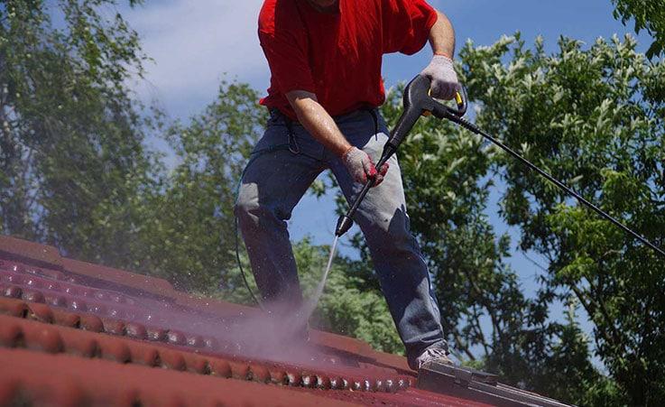 Nettoyage de toiture Blanquefort