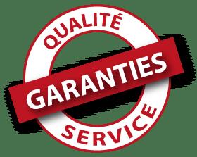 Pastille qualité de service garantie HBMS